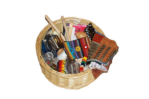Traditional Treasure Basket for Toddlers from 12 months