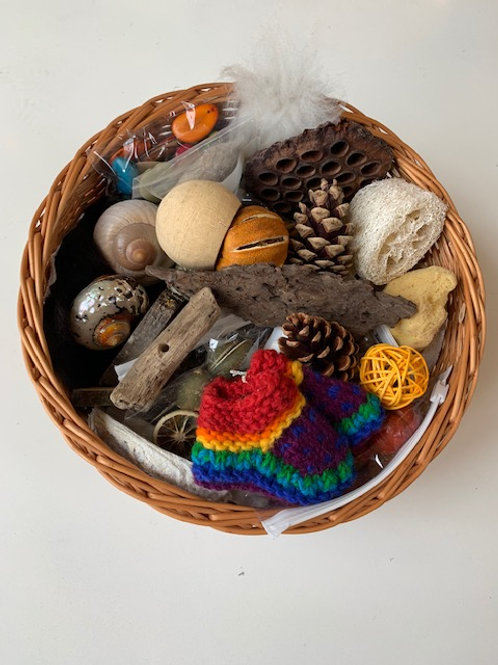 Natural Collection, Treasure Basket for Early Years