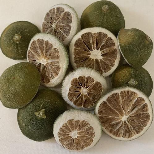 Dried Lime Halves