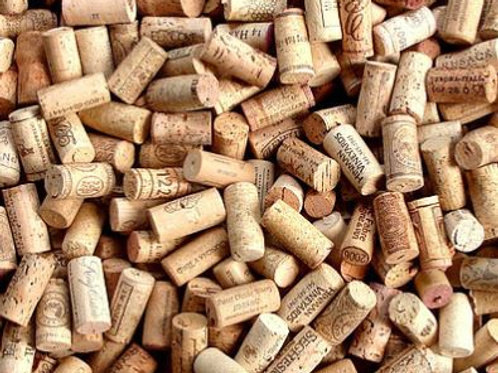 A variety of corks, all cleaned and perfect for heuristic play and water play in the early years as an educational resource.