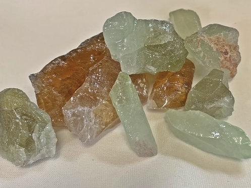 Calcite Rough Coloured