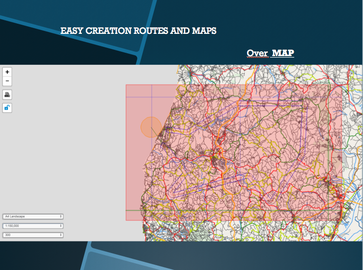 EASY CREATION ROUTES AND MAPS
