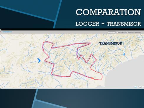 COMPARATION LOGER-TRANSMISOR
