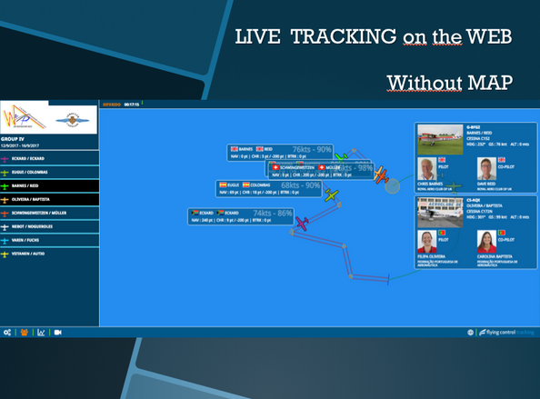LIVE TRACKING WITHOUT MAP