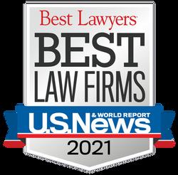 2021 Best Law Firms - Standard Badge