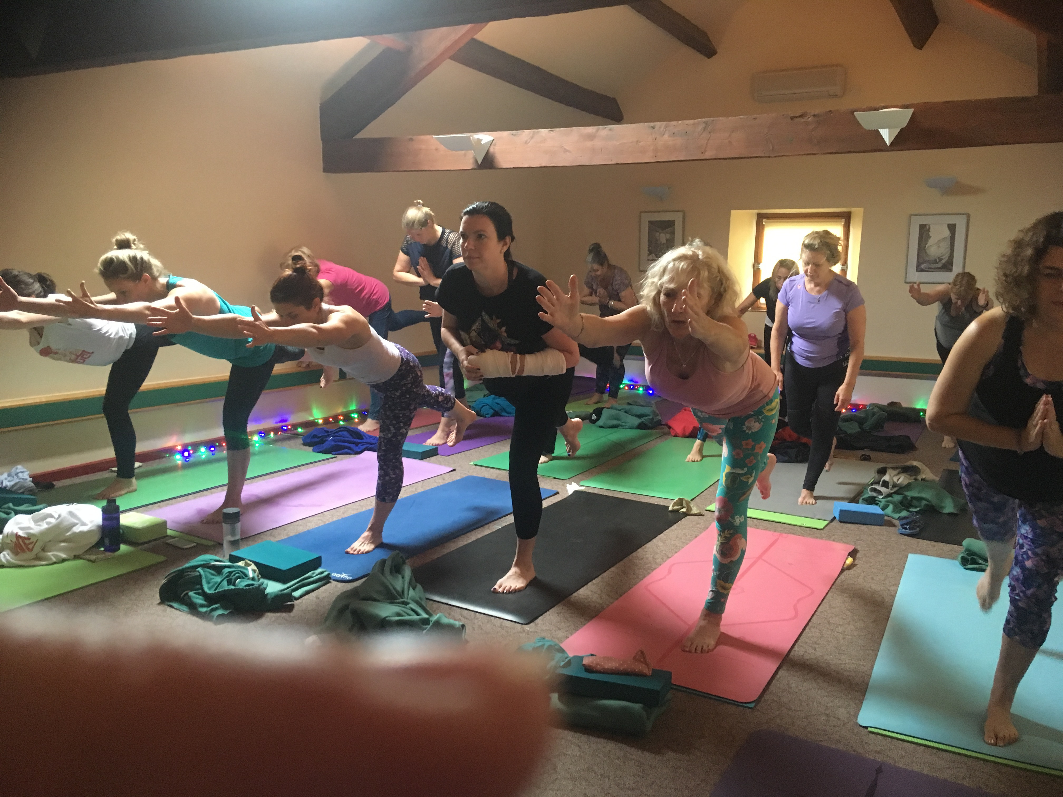 Breath and Stretch Yoga