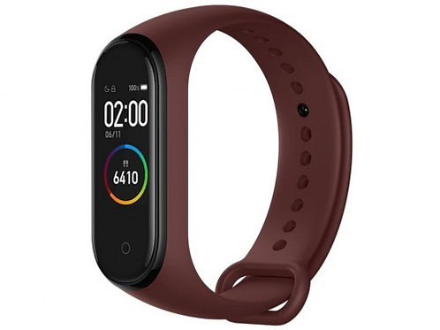 "Xiaomi ""MiBand 4"" Smartband Red, AMOLED Touch Display, Heart Rate, Fitness Level"