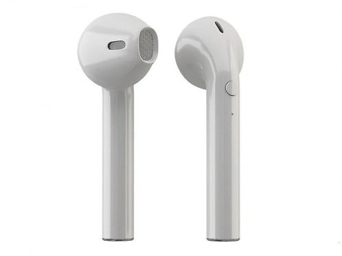 HIPER TWS Air Bluetooth 5.0 In-Ear HeadSet, Li-Pol 2x50mAh+450mAh, white, HTWSAI