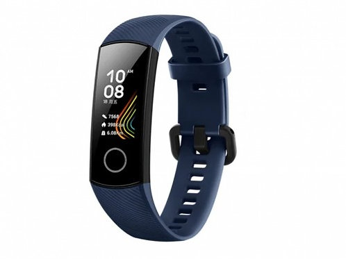 HUAWEI HONOR BAND 5 BLUE, AMOLED 0.95 Inch 240 x 120 pixels Touch Screen, Water