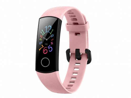 HUAWEI HONOR BAND 5 PINK, AMOLED 0.95 Inch 240 x 120 pixels Touch Screen, Water