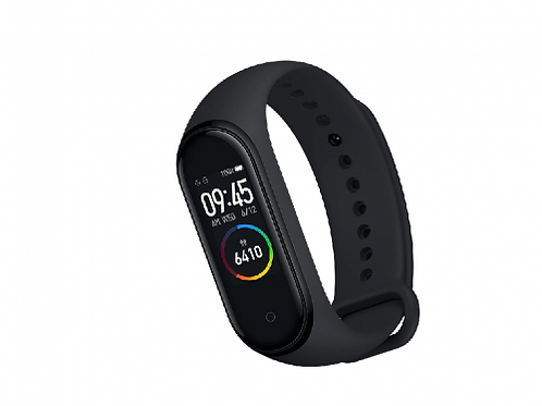 "Xiaomi ""MiBand 5"" Smartband Black, AMOLED Touch Display, Heart Rate, Fitness Lev"