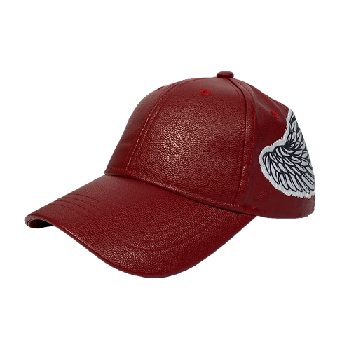 Leather Angel Hat