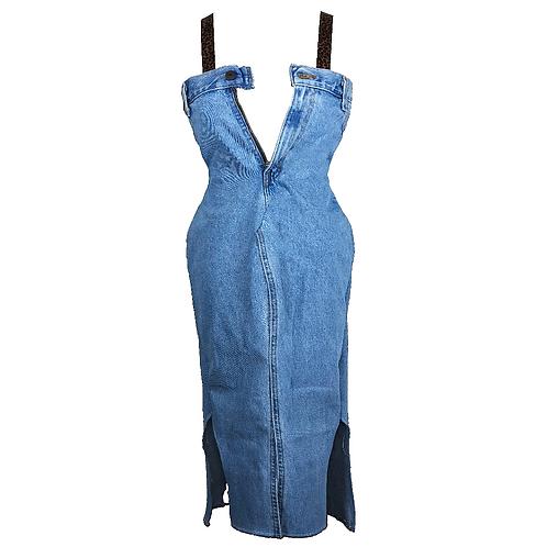 Denim Jeans Jean Dress