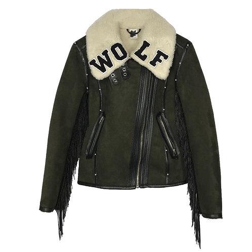 WOLF Shearling Coat