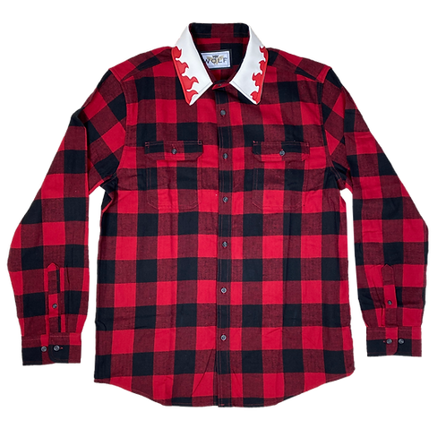 Collar of Fire Flannel
