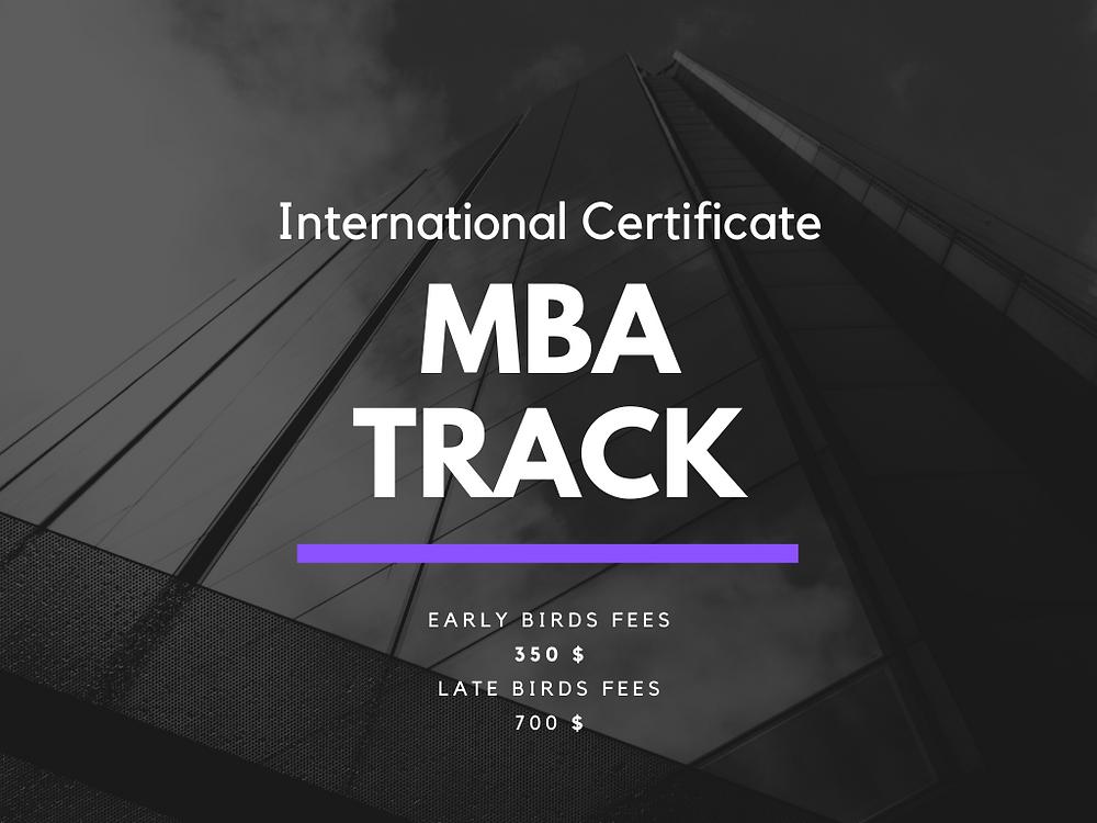 New International MBA Track Program