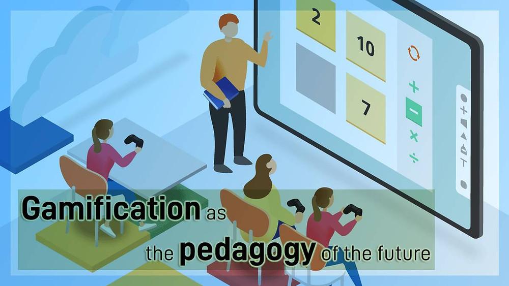 Gamification as the pedagogy of the future Image design by nadir ul kaysar.