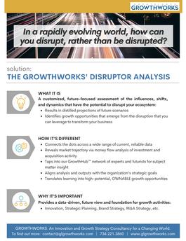 GrowthWorks' Disruptor Analysis Overview