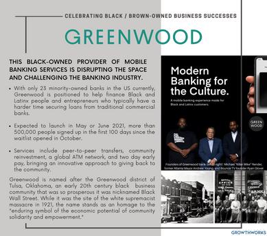 Celebrating Black-Owned Business Successes: Greenwood Financial