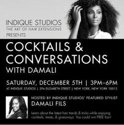 Cocktails and Conversation with Damali