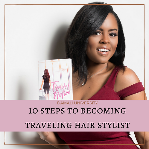 How to Become Traveling Hair Stylist