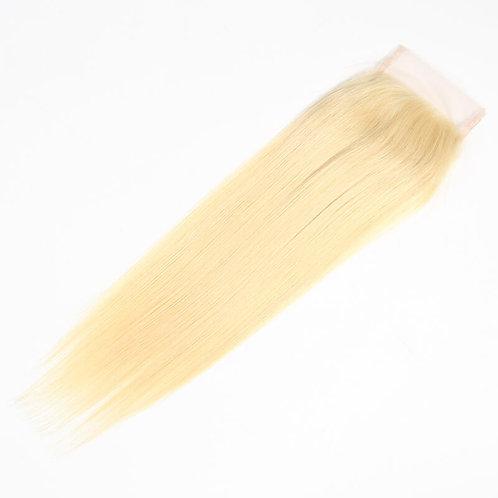 Blonde Straigth Closure