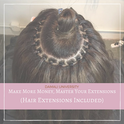 Extension Class plus Hair Extensions