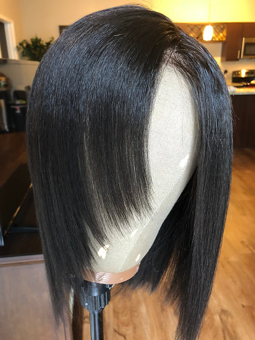 Kinky Straight Lace Frontal Wig