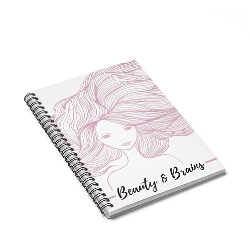 Beauty and Brains Notebook