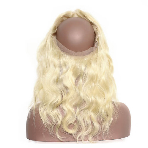 Blonde Body Wave 360 Frontal