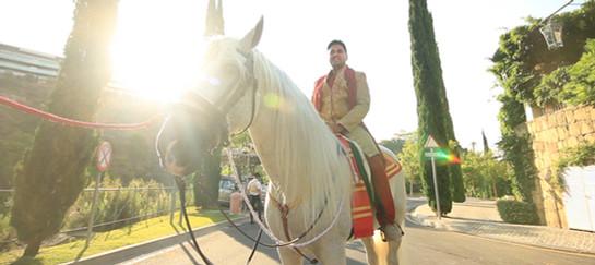 INDIAN WEDDING VILLA PADIERNA, SPAIN