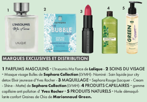 Marques exclusives et distribution