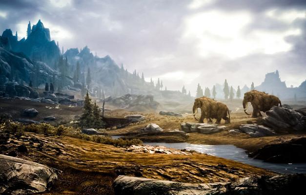 Mammoth Background