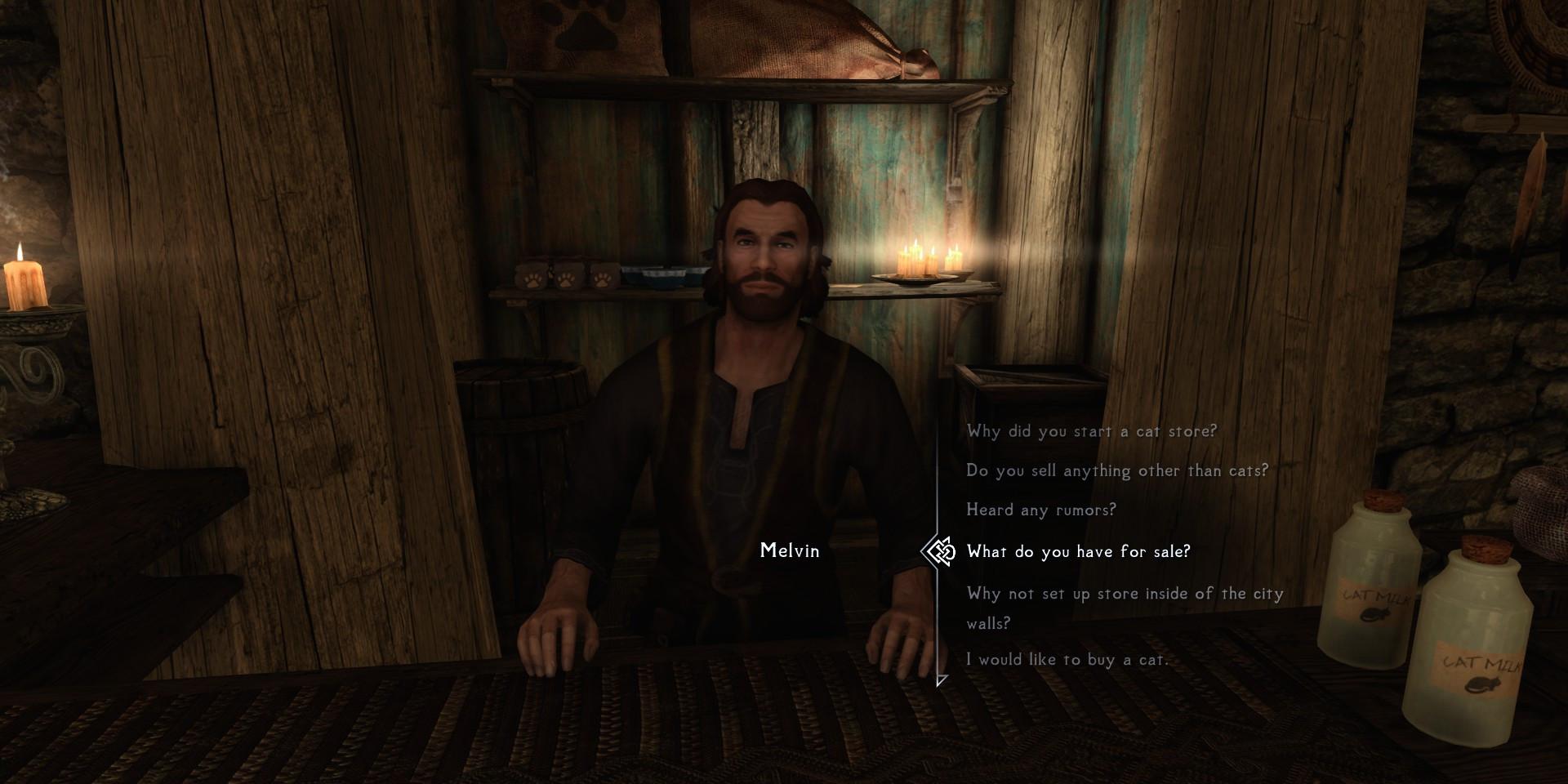 Melvin Dialogue