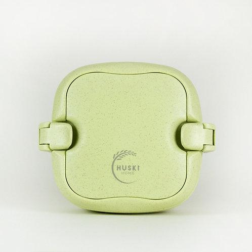 Multi-compartment lunch box in pistachio