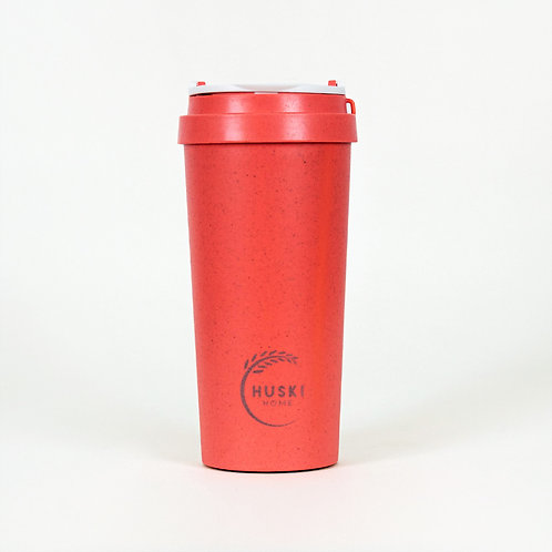Eco-friendly travel cup in coral- 500ml