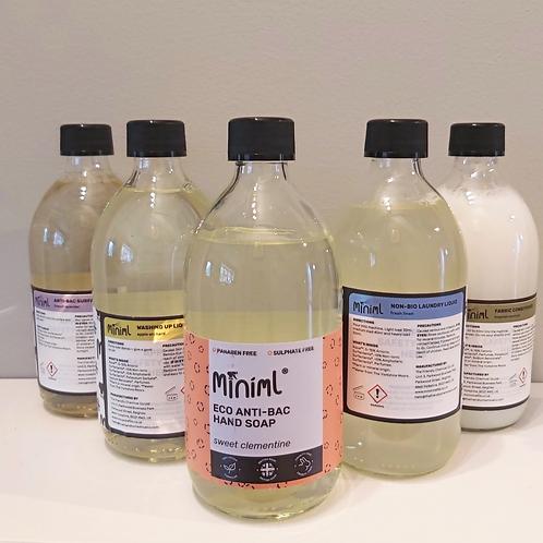 Refill starter kit (glass bottles)