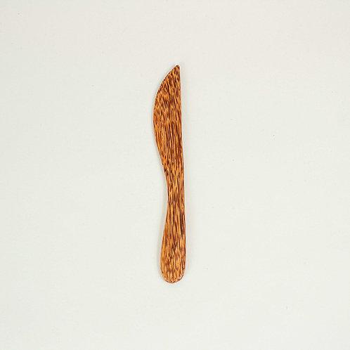 Huski home hand-carved coconut wood knife