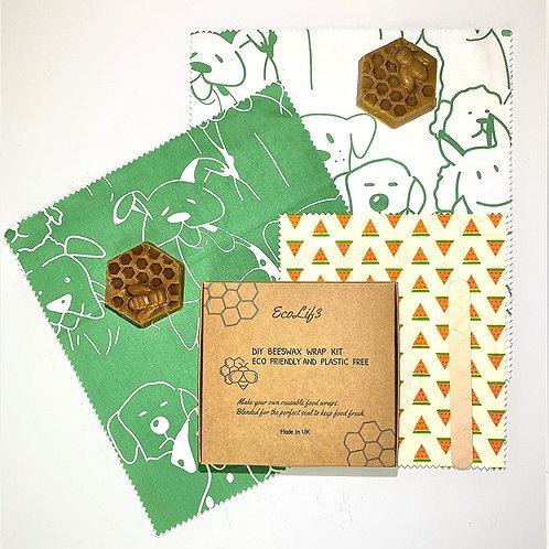 Beeswax Food Wrap Kit