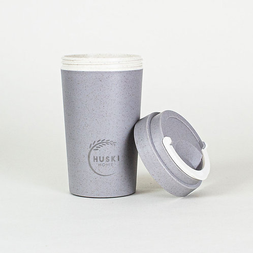 Eco-friendly travel cup in slate- 400ml