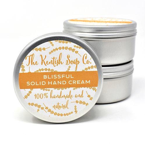 Blissful Solid Hand Cream Bar