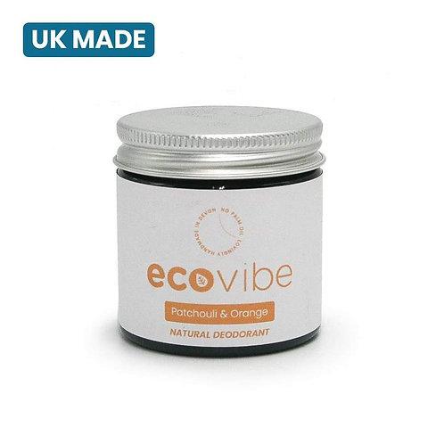 Natural Deodorant Balm- Patchouli & Orange 60g