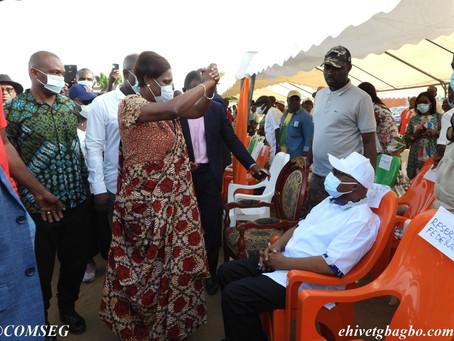 RETOUR DU PRÉSIDENT GBAGBO : MADAME GBAGBO ASSISTE À L'INSTALLATION DU  COMITÉ D'ACCUEIL DES ATCHAN