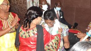 RDC: MADAME SIMONE EHIVET GBAGBO ECHANGE AVEC DES FEMMES POLITIQUES