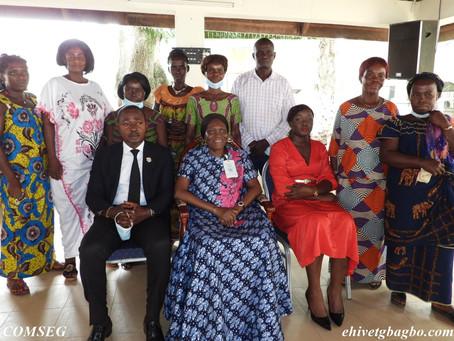 CÔTE D'IVOIRE : L'ASSOCIATION DAMSÊ D'AGBOVILLE CHEZ MADAME SIMONE EHIVET GBAGBO