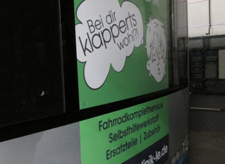 BIKEklinik LE fährt Bus ;-)