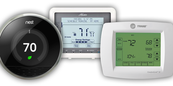 Programmable/WiFi Thermostats