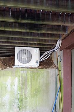 Mini-Split condenser