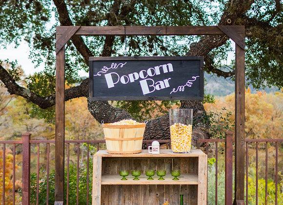 Popcorn/Candy Bar