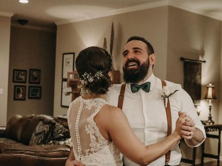 JOSH & AMBER'S WEDDING - A QUARANTINE COUPLE